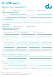 Business Form - Du