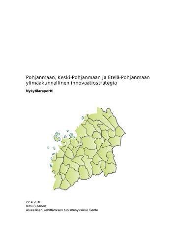 Strategia-analyysi - Keski-Pohjanmaan liitto