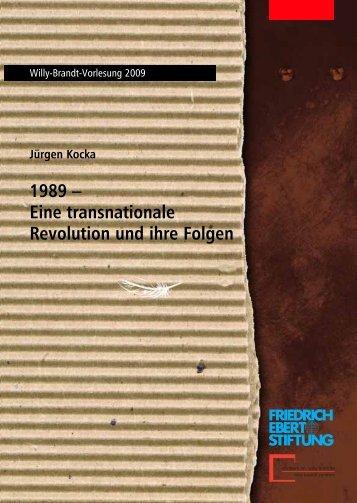 Eine transnationale Revolution und ihre Folgen - Fundacja im ...