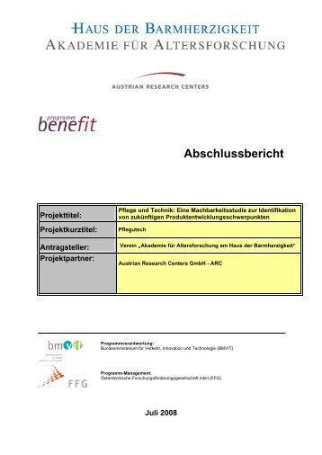 Hier können Sie sich den Abschlussbericht des Projektes downloaden