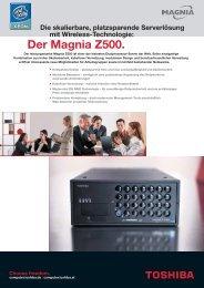 Der Magnia Z500. - Toshiba