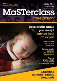 Masterclass: Take Action Issue 3 - Staffordshire Learning Net
