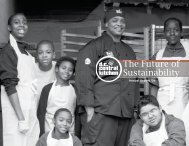 The Future of Sustainability - DC Central Kitchen