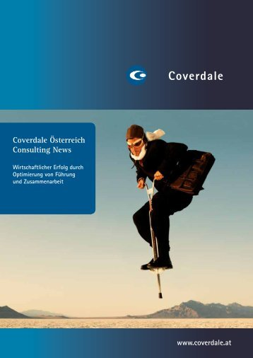 Coverdale Österreich Consulting News