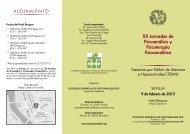 XX Jornadas de Psicoanálisis y Psicoterapia Psicoanalítica - SEP