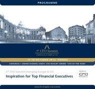 Inspiration for Top Financial Executives - CFO Insight