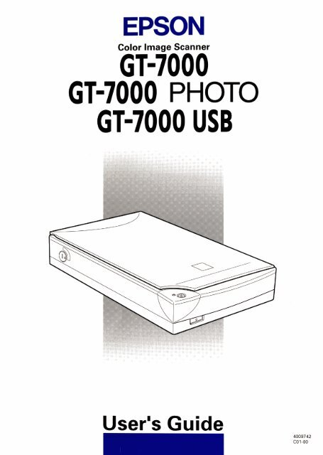 Epson GT-30000 Scan Server Driver for Mac