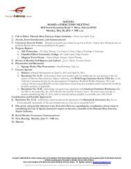 May 20, 2013 Agenda - Phoenix-Mesa Gateway Airport