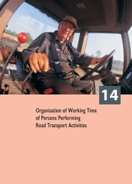 Organisation of Working Time of Persons Performing Road ...