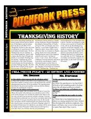 pitchfork press november edition - Adams County/Ohio Valley ...
