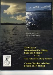 Page 1 Page 2 Special New Events Atlantic Salmon Fly Symposium ...