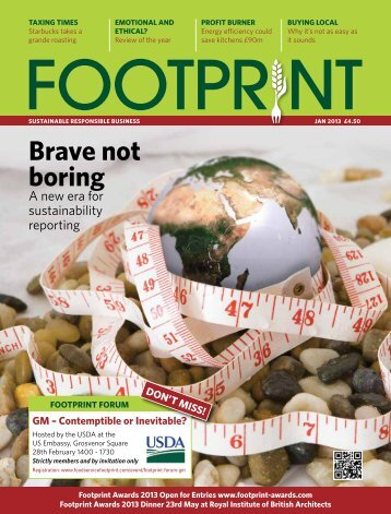 Download Foodservice Footprint Issue 18 January 2013