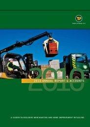 2010 ANNuAL REPoRT & ACCouNTS - Hemscott IR