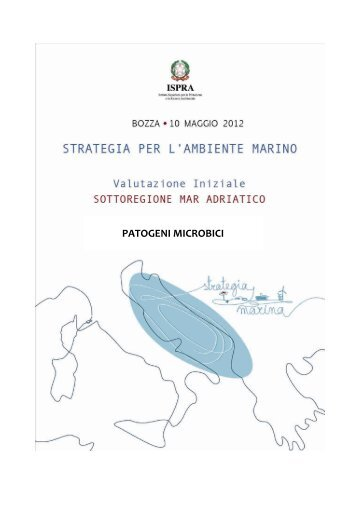 5.5 Mar Adriatico - La strategia marina - Ispra
