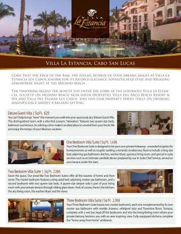 FactSheetVLE Cabo - Villa Group