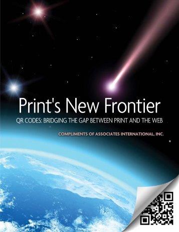 qr codes: bridging the gap between print and the web - Associates ...