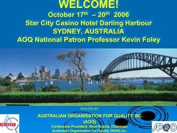 AOQConferencepresKFo.. - Asia Pacific Quality Organization