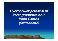 A case study applied to Vaud Canton - Hidroenergia 2010