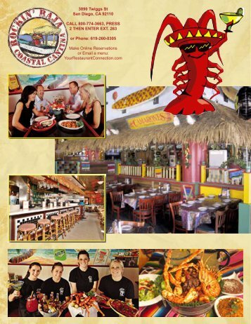 Regular Menu - Your Restaurant Connection