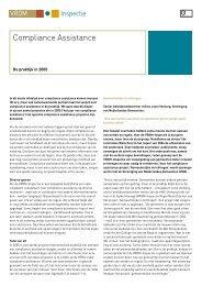 Download:Compliance Assistance: de praktijk in 2005