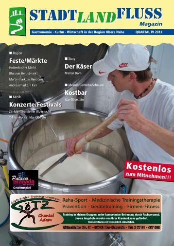 Der Käser Marian Dorn - Stadt, Land, Fluss – Das Magazin