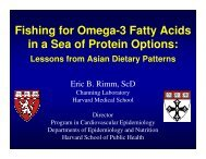 Fishing for Omega-3 Fatty Acids in a Sea of ... - CIAProChef.com