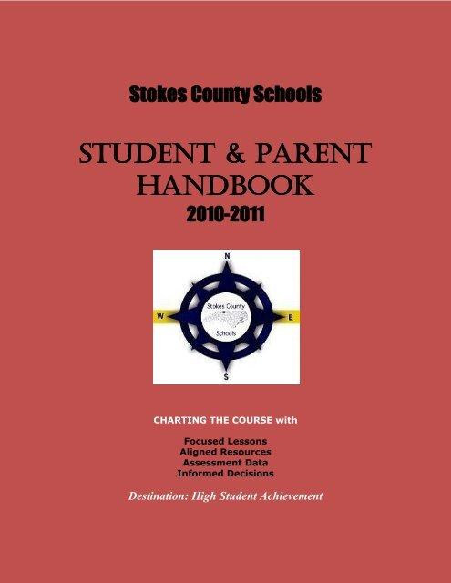 STUDENT & PARENT HANDBOOK - Stokes County Schools