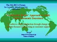Japan Presentation 6 - IRCA