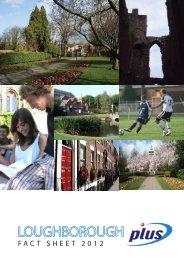 FACT SHEET 2012 - Plus Ed