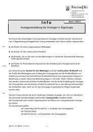 Info - Auslagenerstattung bei Umzügen in Eigenregie (Vordruck-Nr._ ...