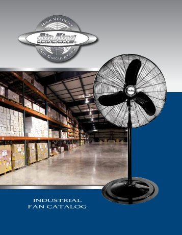 INDUSTRIAL FAN CATALOG - Air King
