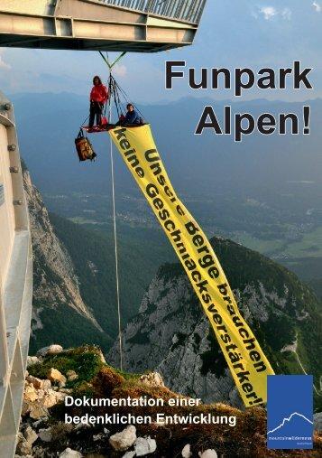 Funpark Alpen! - Mountain Wilderness Deutschland