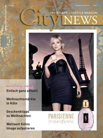 Einfach ganz aktuell Weihnachtsmärkte in Köln ... - CityNEWS