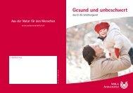 Download Broschüre - WALA Arzneimittel