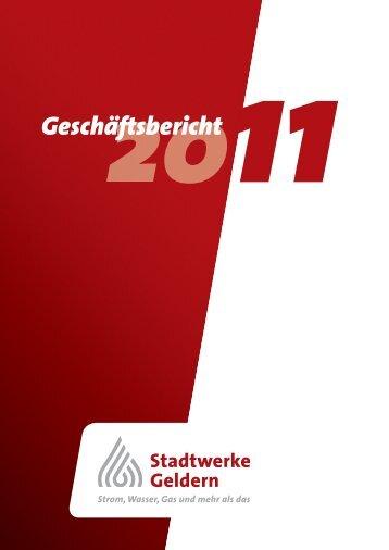 GB 2011 - Stadtwerke Geldern