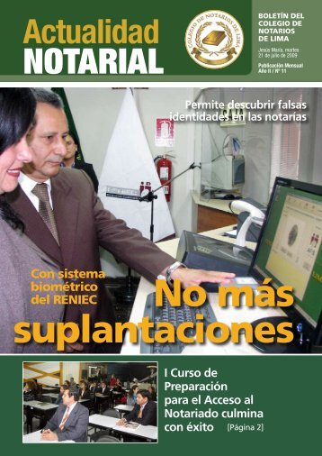 NotAriAl - Colegio de Notarios de Lima