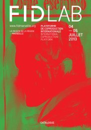 catalogue FIDLab en .pdf - Festival international du documentaire ...
