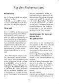 Gemeindebrief Dezember 2004 - Ev. Johannesgemeinde Gießen - Page 5