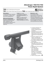 Allesdrager 780/781/782 Thule Rapid System - PartsPoint