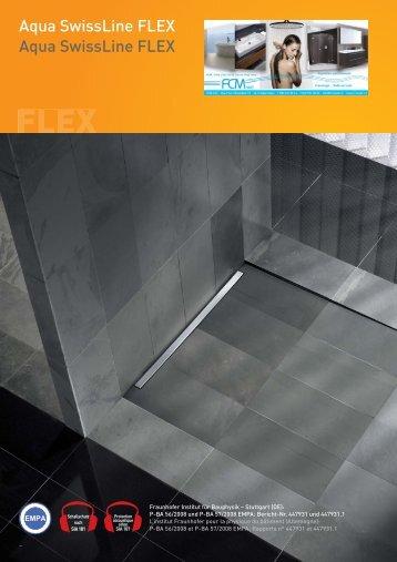 Caniveaux de douche Schaco / Catalogue et prix 2013 - FCM Sarl