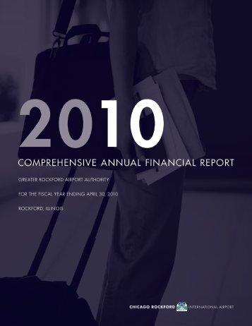 FY 2010 Annual Financial Report - Chicago Rockford International ...