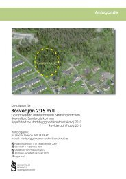 Bosvedjan 2:15 m fl - Sundsvall