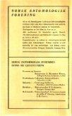 ORSK ENTOMOLOGISK - Norsk entomologisk forening - Page 2