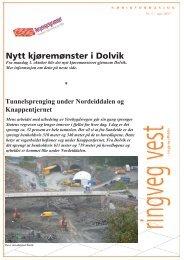 Nytt kjøremønster i Dolvik - Statens vegvesen
