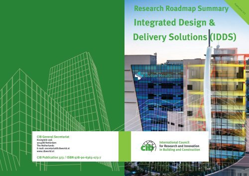 CIB INTEGRATED DESIGN & DELIVERY SOLUTIONS (IDDS)