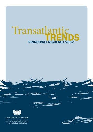 Transatlantic Trends 2007 pdf - Compagnia di San Paolo