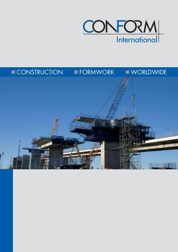 Conform Universal Formwork Ge Construction Formwork Worldwide
