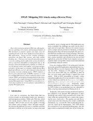 SWAP: Mitigating XSS Attacks using a Reverse Proxy - International ...