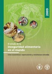 Inseguridad alimentaria en el mundo 2009 - FAO.org