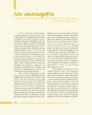 Arte autoetnográfica - Légua & meia